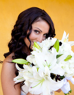 Coto De Caza bridal makeup