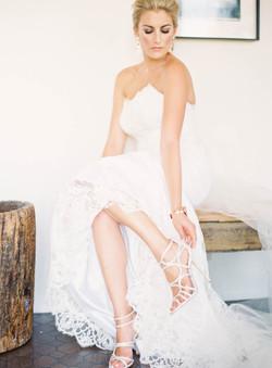 bridal updo hair and makeup