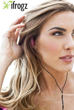 iFrogz headphones ad