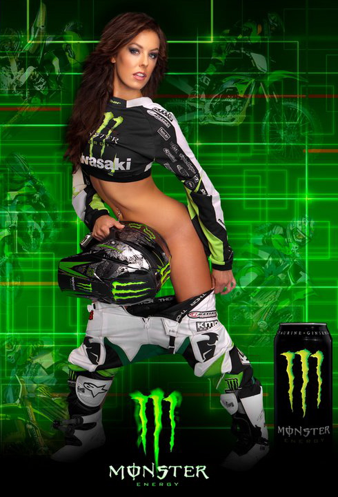 Monster Energy Drinks ad