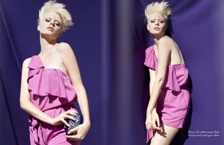 Heather Burton fashion editorial