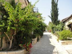 A Jerusalem alleyway
