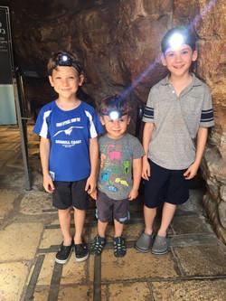 Freeman Boys in Ancient Tunnel