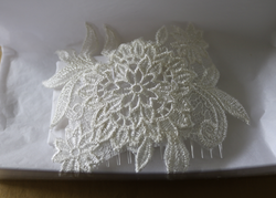 Lace Headpiece to Match Wedding Gown