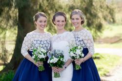 Jacinta and her Bridesmaids