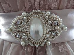 Hand-Beaded Custom Brooch
