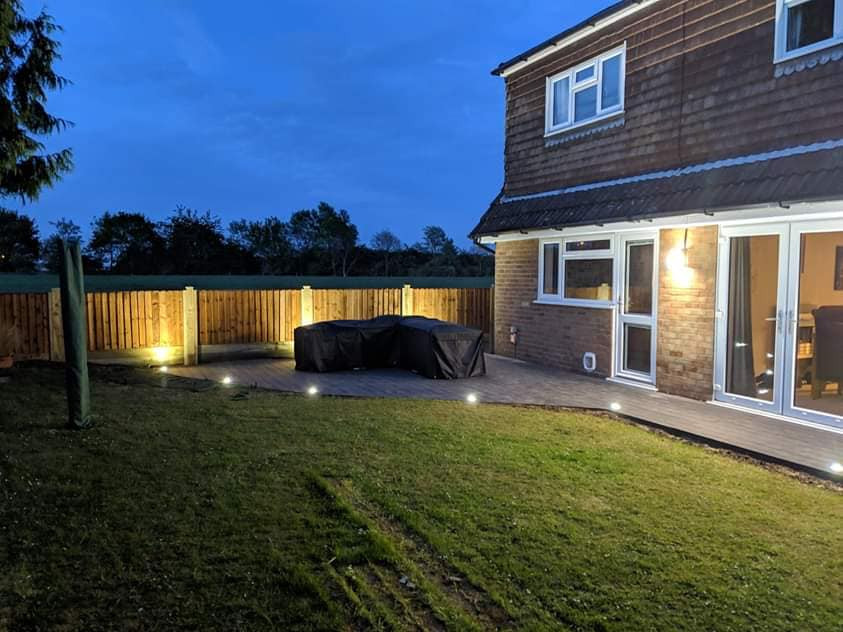 CJ Landscaping | Composite Decking & Outdoor Lighting