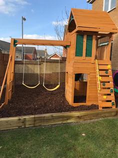 CJ Landscaping   Children's Play Area