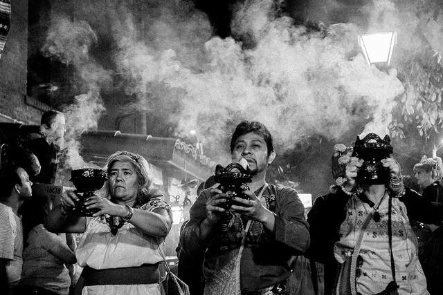 Dia de Los Muertos on Olvera St.