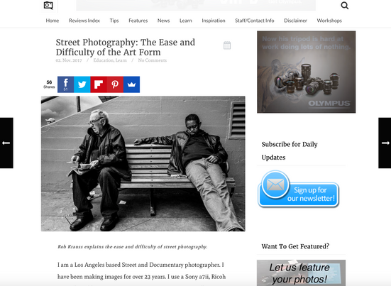 Feature on ThePhoblographer.com