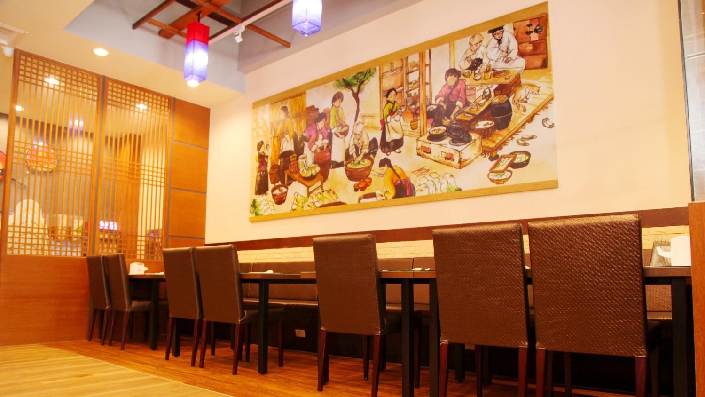 韓式餐飲環境