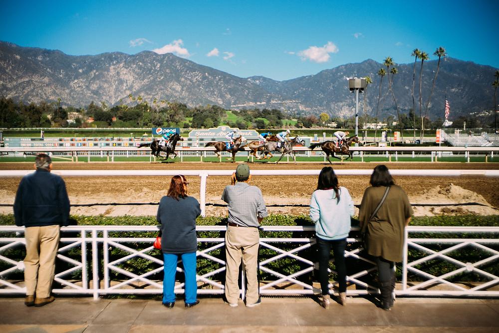 Horse Racing at Santa Anita Park