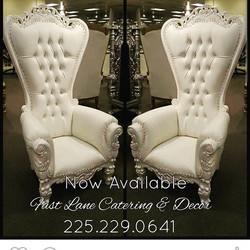 King and Queen Chair $125 each