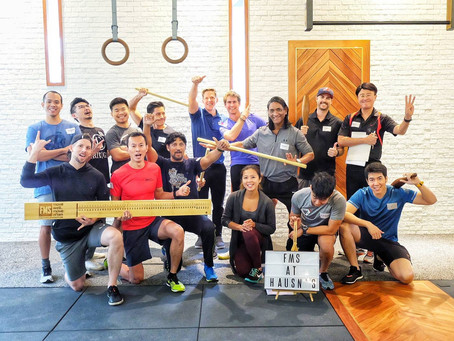 """Functional Movement Screen™ (FMS) course at HAUS No3 - Level 1 """"The movement experience"""""""