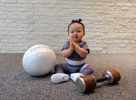 What babies can teach us about living a healthy life; 14 lessons from a 1-year old
