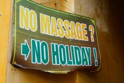 No massage, No holiday! Hoi An