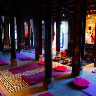 Meditation Space Gratitude Vietnam Retreat Venue