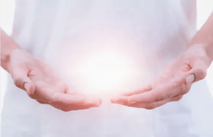 Healing hands and USUI reiki energy healing