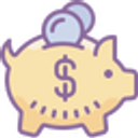 An image of a pig moneybox cartoon to illustrate payment options.