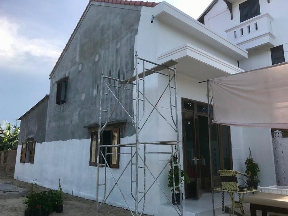 Gratitude Vietnam Retreat Center and Spa in progress