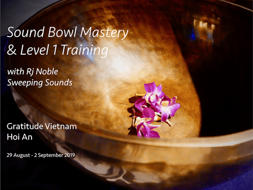 Sound Bowl Mastery and Level 1 Training