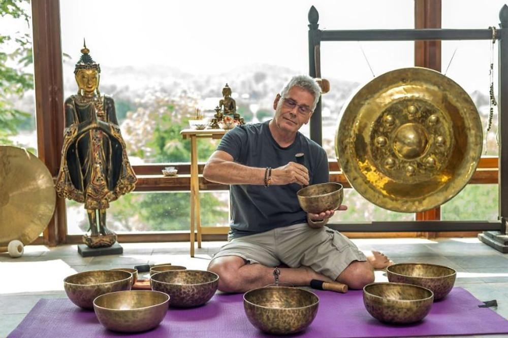 RJ Noble Sound Bowl healer Gratitude Vietnam