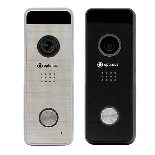 Панель видеодомофона Optimus DSH-1080_v.1 (черный, серебро)