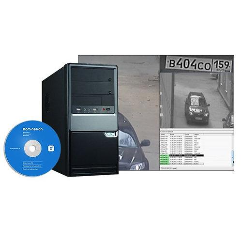 Видеосервер с установленным ПО подключается к работающему серверу Domination и с