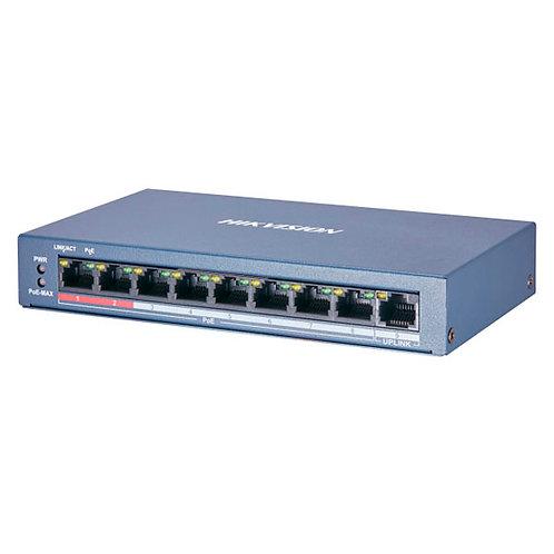 Коммутатор Hikvision DS-3E0109P-E/M(B)
