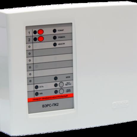 Прибор приёмно-контрольный ВЭРС-ПК 2П версия 3.2