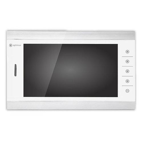Видеодомофон Optimus VMH-10.1 (белый+серебро/черный+серебро)