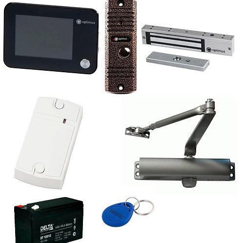 Комплект видеодомофонии стандарт