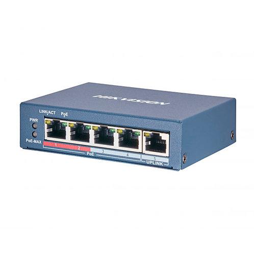 Коммутатор Hikvision DS-3E0105P-E(B)