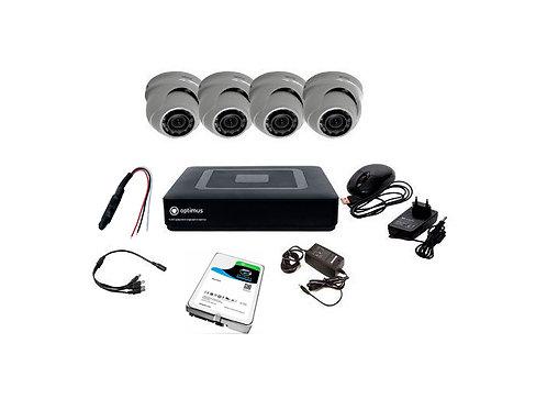 Комплект видеонаблюдения Optimus