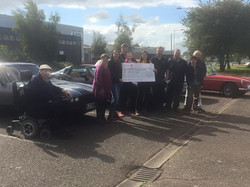 COTG Cheque for Scottys Little Soldiers