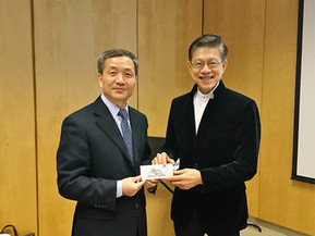 President of Nanjing Medical University Led a Delegation to Visit the School