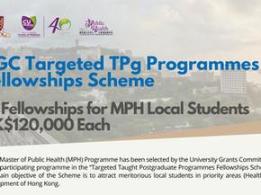 UGC Targeted Taught Postgraduate Programmes Fellowships