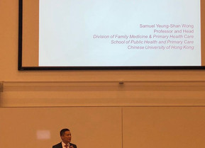 Prof. Samuel Wong Served as a Keynote Speaker in International Conference on Mindfulness