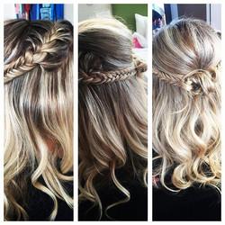 Wedding hair...