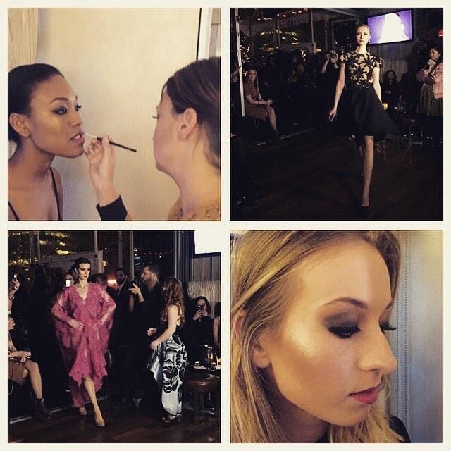 First show done!!! 💋#nyfw#fashionweek#makeup#newyork