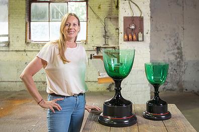 Sommer Dutch Glass Art maakt trophies Formule 1.jpg