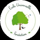 Logo Fondation Ecole Universelle (transp