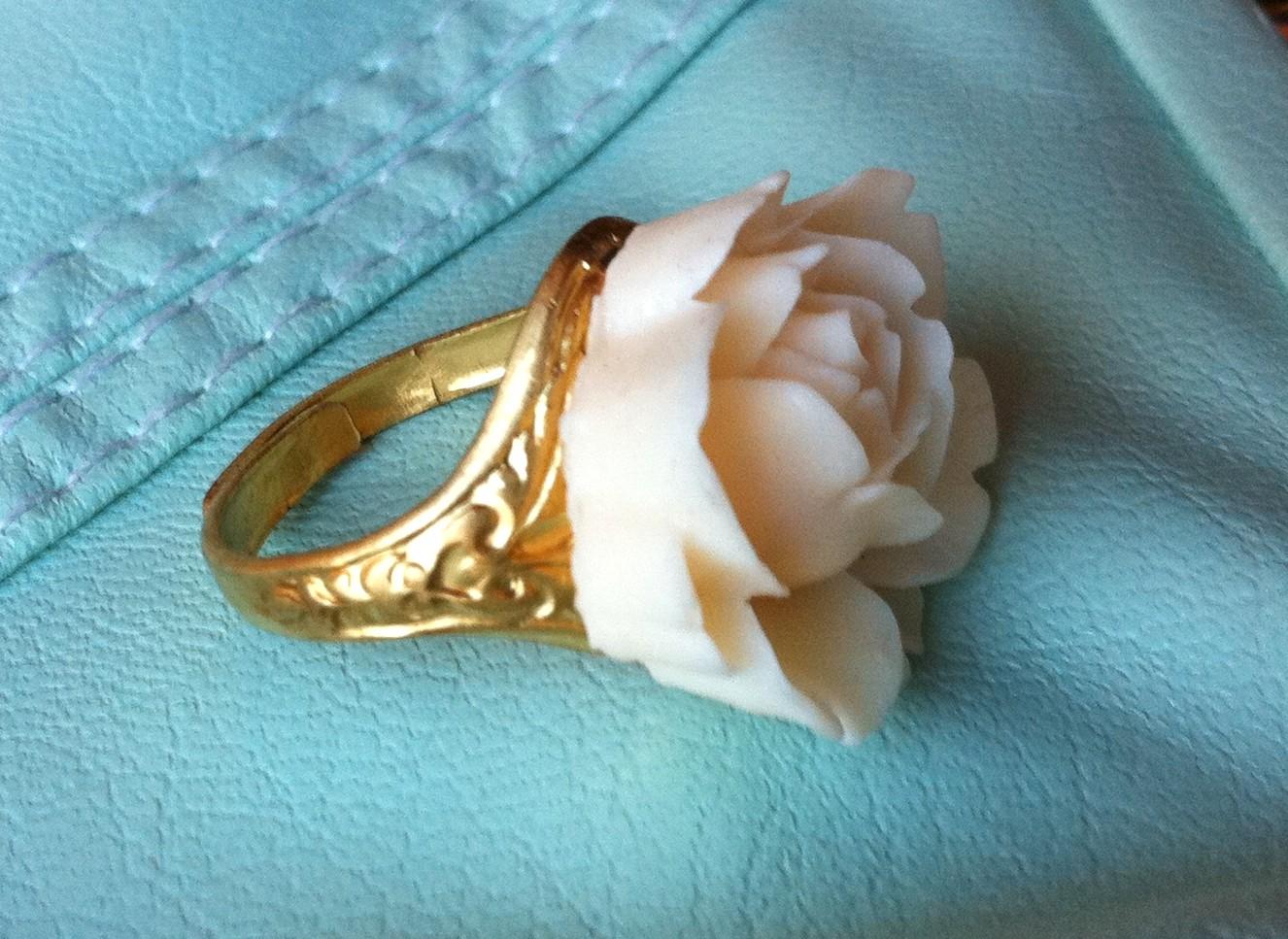 Ivory Rose Ring