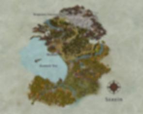 Fantasy Map, LitRPG, Gamelit, Gruke, RPG