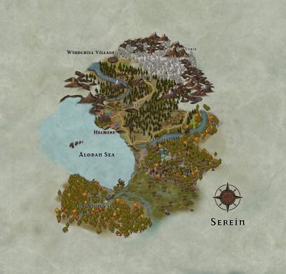 Map of Serein