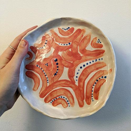 pinch plate (orange)