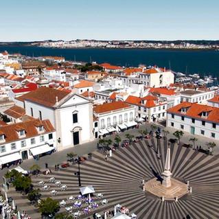 Luchtfoto van Vila Real