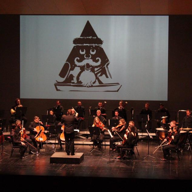 Muziek voorstelling