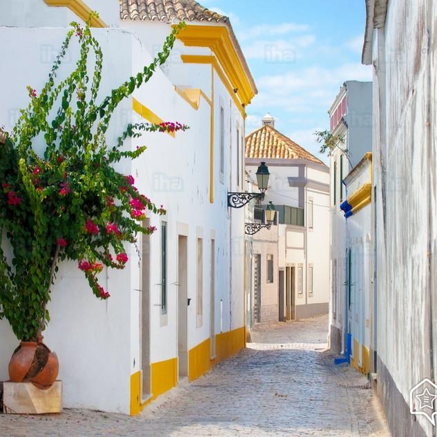 Straatje van Luz de Tavira