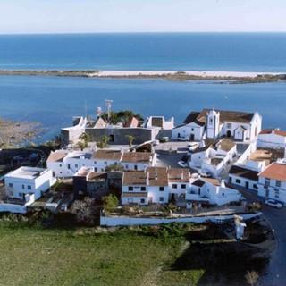 Luchtfoto van Cacela Velha
